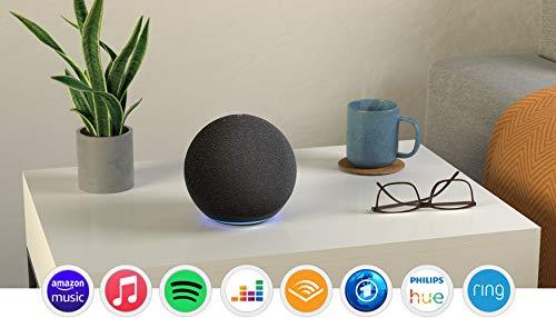 Der neue Echo (4. Generation)   Mit herausragendem Klang, Smart Home-Hub und Alexa   Anthrazit
