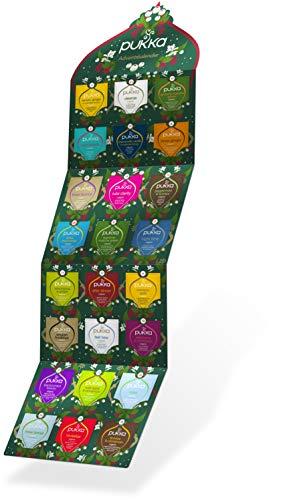 Pukka Tee Adventskalender 2020 (Weihnachtskalender mit 24 Bio-Tees) für Teeliebhaber
