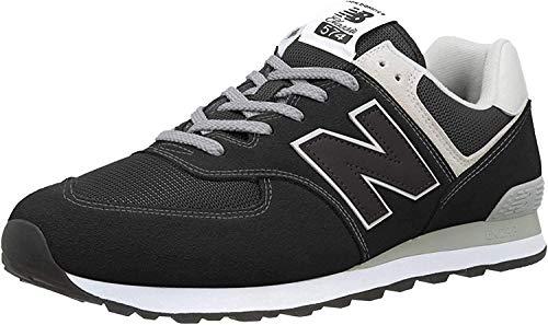 New Balance Herren 574v2 Core Sneaker, Black, 44.5 EU