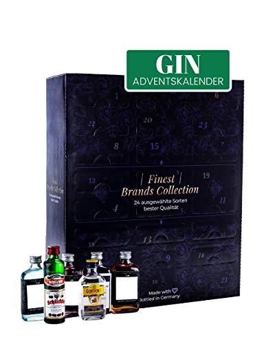 GIN Adventskalender 2020 I leckerer Alkoholkalender für Ginliebhaber I WELTREISE durch die Welt des Gins I Weihnachtsbox für Erwachsene