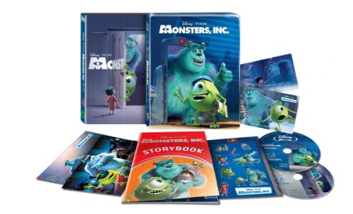 Monsters, Inc. [Blu-ray 3D/Blu-ray Steelbook KIMCHI Exclusive Limited Edition; Only 1200 Worldwide; Region-Free]