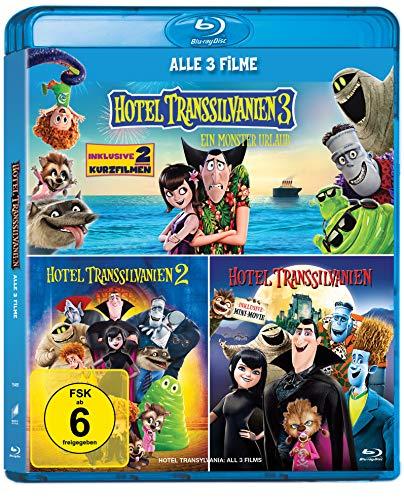 Hotel Transsilvanien 1-3 Blu-ray Collection [Exklusiv bei Amazon]